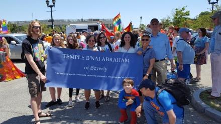 Temple B'nai Abraham Pride Parade 2016